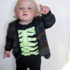 Make a sweater for your toddler that makes him look like his favorite person in the whole wide world. This Just Like Gramps Cardi is the perfect sweater pattern for kids.