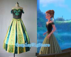 Custommade For Kids And Adult Frozen Costume by CosplayWigStore, $138.00