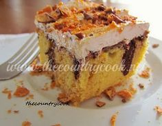 The Country Cook: Butterfinger Cake