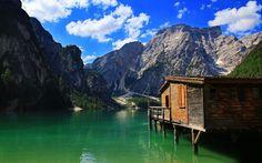 Ideal Climber Houses #14: Lake Pragser, Italy