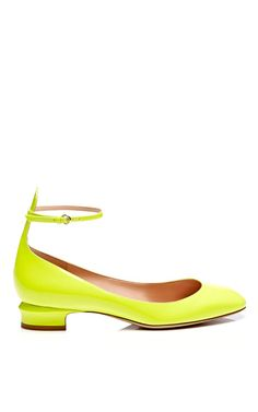 Tango Patent Leather Mary-Jane Pumps by Valentino