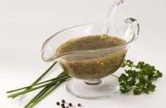 Salsa Vinagreta con ajo - Vinaigrette with garlic