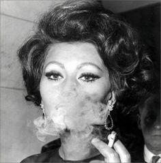 Smokin' Sophia Loren
