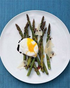 Roasted Asparagus and Eggs Recipe