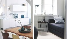 design attractor: Airy Danish Apartment
