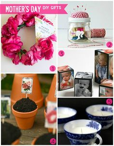 Budget Styles: Happy Mother's Day! Five Last-Minute DIY Gift Ideas #mothersday #giftideas #diy #crafts
