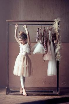 I love this picture. It reminds me of years ago when Maggie was just starting out. I have been that mom who has ironed, sewed, and carried the dance apparel needed. Sweet picture.... Priceless memories. dance photography, little girls, dress, tiny dancer, du mond, tutu du, ballet costumes, flower girl, kid