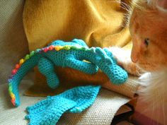 FREE Pattern for this cute Dragon