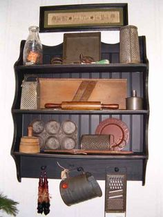 Love the cabinet and the items on it