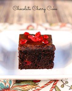 Chocolate Cherry Cake | Plain Chicken