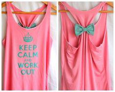 Keep calm tees DIY for half