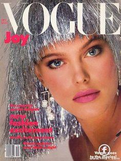 Renee Simonsen Vogue  1984
