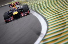 Red Bulls take second row for Brazilian Grand Prix