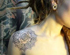 boho flower tattoo - Google Search