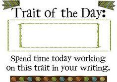 61 writing traits organization