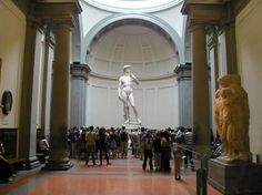 Galleria dell'Accademia - Florence, Italy 2005