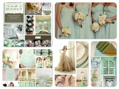 yep. Def have to have mint. I love grey mixed in too with yellows