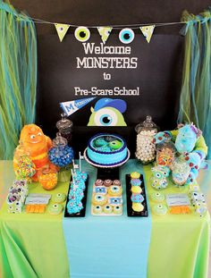 monsters inc party - i'm not too old for this right?