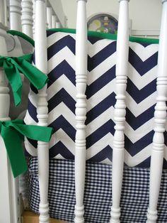 Ducks in a Row: Sewing Crib Bedding