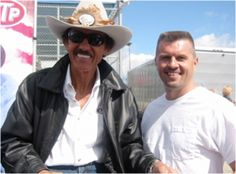 Richard Petty on tour for retailtainment wow!