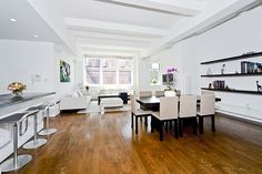 Nolita Stunner by HalsteadProperty, via Flickr    161 Grand Street 5B, Soho, New York, Represented exclusively by Anna Shagalov . See more eye candy on this home at http://www.halstead.com/sale/ny/manhattan/soho/161-grand-street/condo/3202251