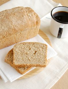 Oatmeal sandwich bread / Pão de aveia by Patricia Scarpin, via Flickr