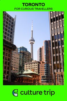 Toronto is best known for its needle-sharp CN Tower. It may not be quite as famous as the Eiffel Tower, but what the city lacks in over-Instagrammed landmarks, it makes up for with its neighborhoods  #toronto #torontocityguide #torontotravelguide #toronotravel #torontothingstodo #forcurioustravellers