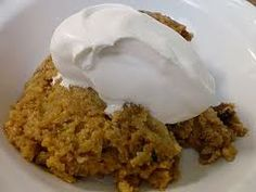 Crock Pot Crustless Pumpkin Pie (more like a pumpkin pudding)