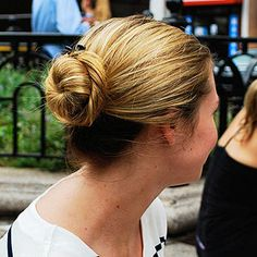 Summer Hairstyles Spotted On the Streets hairstyle for hot weather, hairstyl idea, summer hairstyles