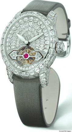 Harry Winston Jewelry -mentioned in the School of Flaunt Handbook!