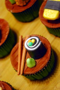 Another Sushi Inspired Cupcake