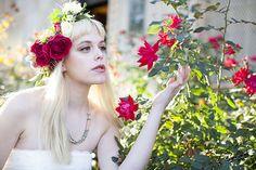 DIY Wedding Flower Crown Tutorial