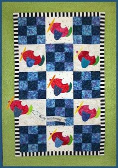 The Virginia Quilter - Quilting Patterns - Zebra Patterns - Airplanes Quilt Pattern