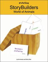 StoryBuilders are meant to be a springboard for creative stories when your child has difficulty coming up with something new. What I love most is that they will broaden Ella's vocabulary.