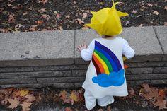 diy costumes, kid halloween costumes, kid costumes, diy halloween costumes, rainbows