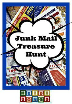Heidi Songs Junk Mail Treasure Hunt