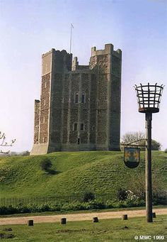 Orford Castle, Suffolk, UK