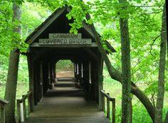 Cambron Covered Bridge, Huntsville, Alabama