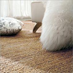 calligaris hemp rug, natural