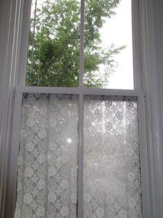 transom windows, window film, lace window, hous, window treatments, bathroom window lace starched, window coverings, curtain, bathroom windows