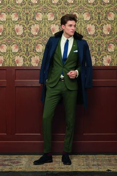 GANT Rugger Holiday 2012 Collection. Love the green suit...and the awesome wallpaper.