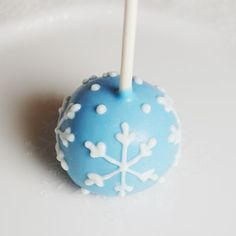 holiday, brownie pops, snowflak cake, cake pops, blue cakes, cakepop, mini, blues, browni pop