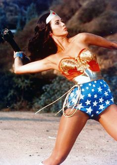 Lynda Carter - Wonder Woman.  Ill never forget the laso of truth. Works everytime.