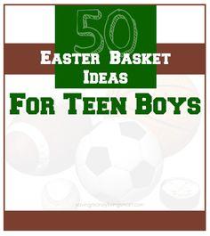 50 Easter Basket Ideas For Teen Boys - Saving Money Living Smart holiday, easter idea, easter basket ideas for boys, teen boy, easter basket ideas for teens
