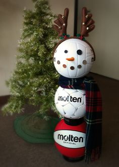 Molten snowman! http://facebook.com/moltenus