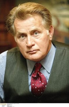 Martin Sheen as President Josiah Bartlett on The West Wing