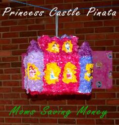 How to Make a Princess Castle Pinata