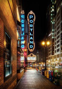 Portland Oregon- I love Portland