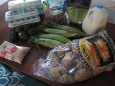 Brigette's $30 Weekly Grocery Shopping Trip and Weekly Menu for 6 -- this is SO inspiring!