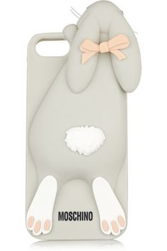 Moschino Violetta Rabbit iPhone 5 cover, $75, available at Net-a-Porter